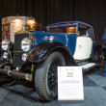Постер, плакат: Vintage car Excelsior Albert 1 Cabriolet 1927