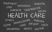 Health Care word cloud — Stock Photo