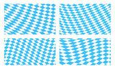 набор фонов баварского флага — Cтоковый вектор