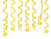 Serpentine in gold — Stock Vector