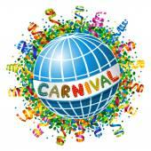Carnival Planet — Vettoriale Stock