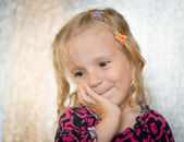 Cute little girl. — Stock Photo