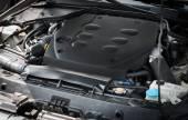 Auto motor. — Stockfoto