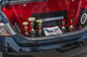 Car audio show. — Foto Stock