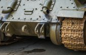 Rear view of the tank. — Stock Photo