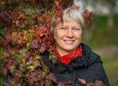 Portret van een middelbare leeftijd vrouw. — Stockfoto