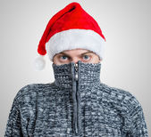 Portrait of a man in sweater. — Stock Photo