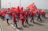 International Workers' Day in Vladivostok. — Stock Photo