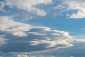Clouds in sky. — Stock Photo