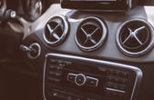 Car cockpit. — Stock Photo