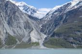 Mountains and Glaciers in Alaska — Stock Photo