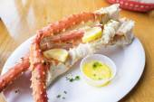 Alaskan King Crab Legs — Stock Photo