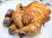 Rotisserie Chicken — Stock Photo