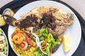 Grilled Trigger Fish — Stock Photo