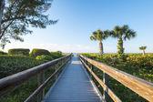 Boardwalk to a Beach — Stock Photo