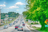 Streets of maryville tennessee — Stock Photo