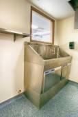 Hôpital broussailles évier — Photo