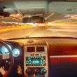 High-speed car in the tunnel — Stock Photo #52952935