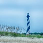 Cape Hatteras Lighthouse, Outer banks, North Carolina — Stock Photo