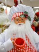 Santa claus figure toy ready for holidays — 图库照片