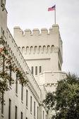 The old Citadel capus buildings in Charleston south carolina — Stock Photo