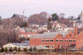 Greenwich Bay Harbor Seaport in east greenwich  Rhode Island — Zdjęcie stockowe