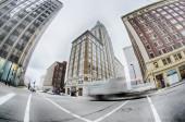 Tulsa city skyline around downtown streets — Stockfoto