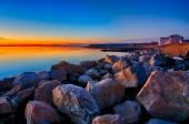 Greenwich Bay Harbor Seaport in east greenwich  Rhode Island — Stock fotografie