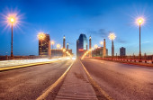 Springfield massachusetts city skyline early morning — Stock Photo