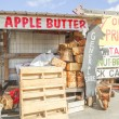 Apple farm store in the mountains — Stock Photo #65660971