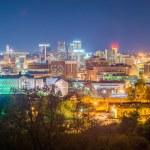 Birmingham alabama evening skyline — Stock Photo #70839847