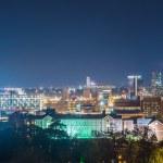 Birmingham alabama evening skyline — Stock Photo #70839907