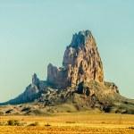 El Capitan Peak just north of Kayenta Arizona in Monument Valley — Stock Photo #71353699
