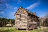 Preserved histric wood house — Stock Photo