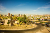 Albuquerque new mexico skyline of downtown — Stock Photo