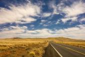 Road to Meteor Crater in Winslow Arizona USA — Stock Photo
