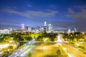 Downtown of Charlotte  North Carolina skyline — Stock Photo
