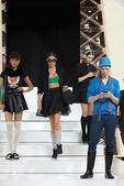 Fashion Show in Tallinn October 2014 — Stock Photo