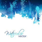 Abstract watercolor header background — Stock Vector