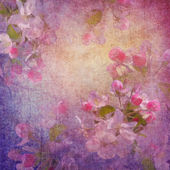 Painting style floral art — Stock Photo