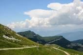 Mountain landscape of Italian Alps - Monte Baldo — Stockfoto