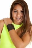 Lederen armband — Stockfoto