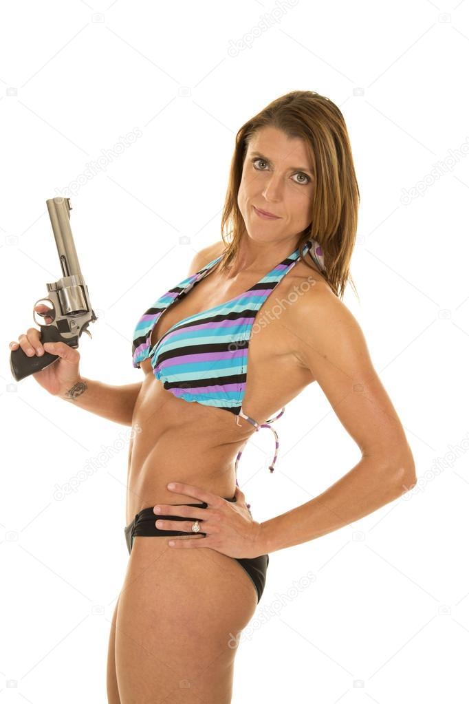 Woman in bikini picture