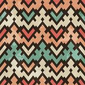Vintage geometric seamless pattern — Wektor stockowy