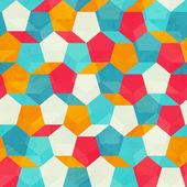 цветная мозаика бесшовный фон — Cтоковый вектор