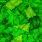 Green geometric seamless pattern — Wektor stockowy