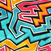 Grunge graffiti seamless texture — Vector de stock