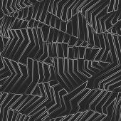 Monochrome grid seamless pattern — Stock Vector
