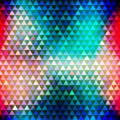 Hipster triangle seamless pattern — Stock Vector
