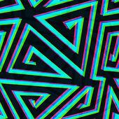 Иллюзия лабиринт бесшовный фон — Cтоковый вектор